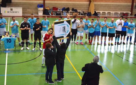Homenaje póstumo del Futbol Sala a Dani Juarez