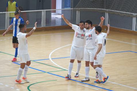 Un gran CFS L'Alfas del Pi frena la racha de victorias del Hercules San Vicente FS
