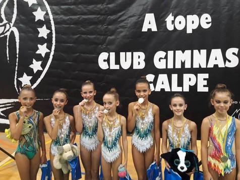 Las gimnastas nucieras se clasifican para el Autonómico