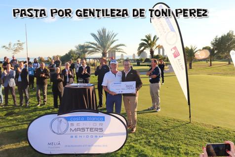 El británico Paul Streeter vence el 'Costa Blanca Benidorm Senior Masters' de golf en una soleada ta