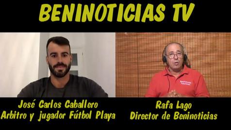 Vídeo entrevista con José Carlos Caballero, árbitro y portero de fútbol playa