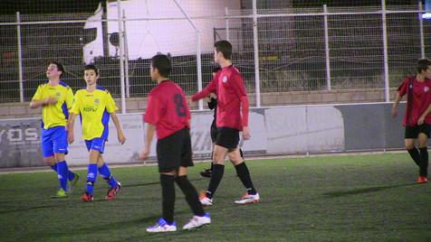 Victoria del Cadete B del Alfaz con polémica ante el At. Jonense (incluye video del partido)