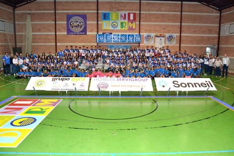 Anímate a entrar en uno de los mejores clubes de España de Voleibol
