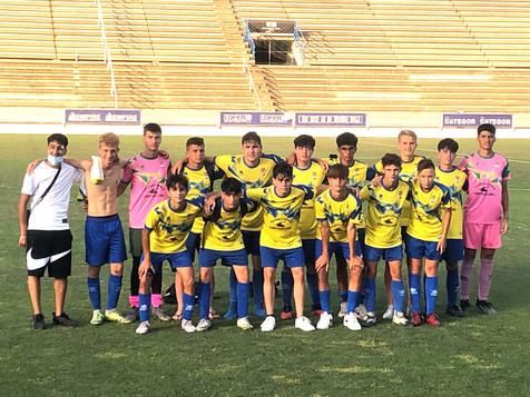 Costa Blanca Cup. Semifinales Alfaz 0 -La Nucia 1