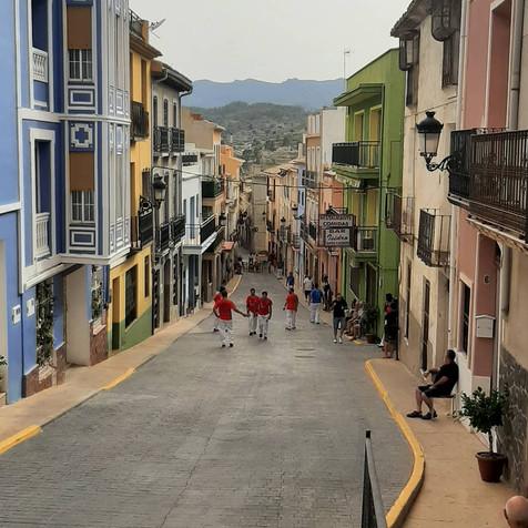 Última jornada de la liga de pilota Valenciana en la Comarca