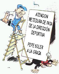 Pepe Gotera sin Otilio… chapuzas para el banquillo