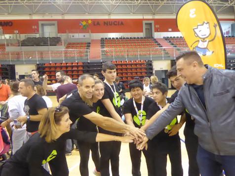 356 personas participan en la X Jornada de Deporte Adaptado Escolar