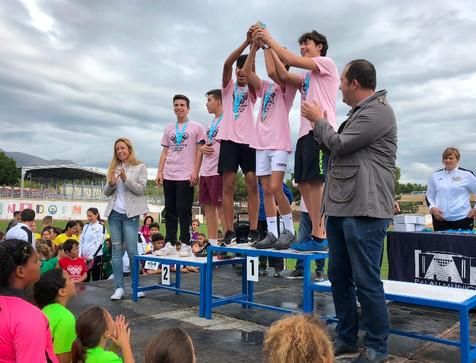 Cerca de 200 escolares participan en el XXIV Campeonato de Campo a través