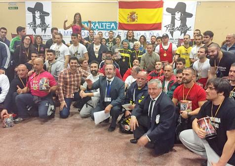Récord de participación en el Campeonato de España de Powerlifting Finestrat con más de 80 competido