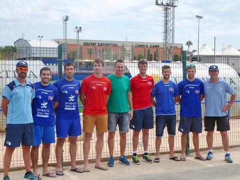 La Selección de Pilota Valenciana prepara en La Nucía el Europeo 2015