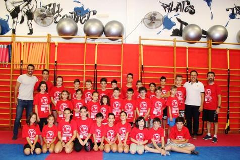 Empieza el I Campus de Taekwondo de Finestrat con más de 30 niños