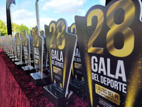 L'Alfàs del Pi premia a los deportistas locales y los  clubes en su vigésimo octava Gala del Deporte