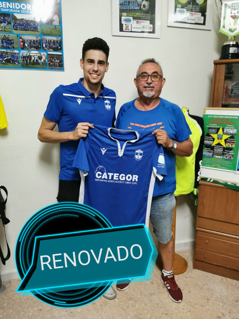 Rome renueva con el filial del CF Benidorm