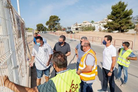 Prosiguen las obras del nuevo campo de fútbol 8 de césped artificial de l'Albir