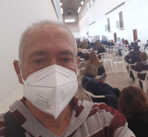 """Magnífica organización en el """"vacunódromo"""" de Benidorm"""
