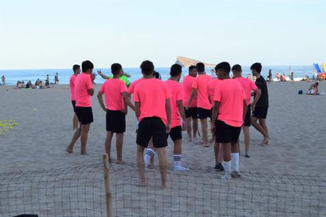 Galería de 34 fotografías del primer entrenamiento del Juvenil del CF Benidorm
