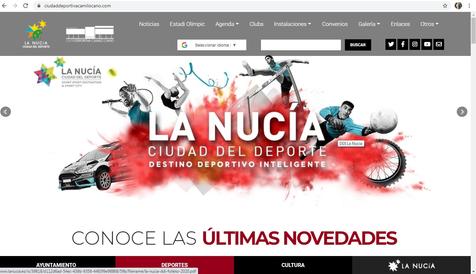 Las escuelas deportivas de La Nucía estrenan inscripción on-line