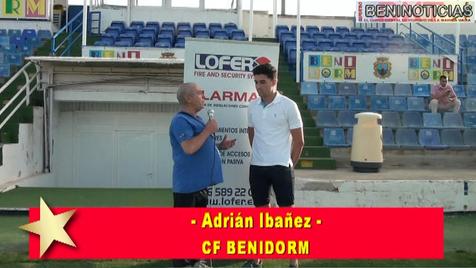 Vídeo entrevista con Adrián Ibáñez, nuevo fichaje del CF Benidorm