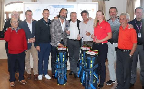 Toni Pérez destaca la importancia del turismo deportivo en la entrega de trofeos 'Pro-Am' de la 'Cos
