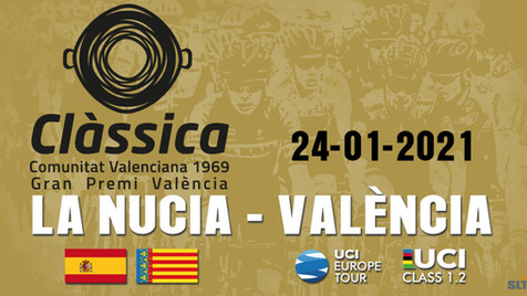 """La temporada ciclista 2021 comenzará en La Nucía con la """"Clàssica Comunitat Valenciana"""""""