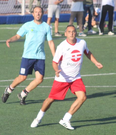 II jornada de la Liga del Fútbol 7 Veteranos de Benidorm