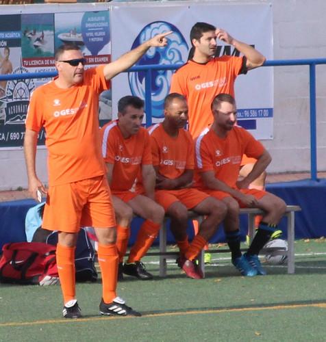 Jornada VI de la Liga del Fútbol 7 Veteranos de Benidorm