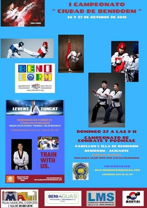Primera Edición Ciudad de Benidorm Taekwondo Olímpico