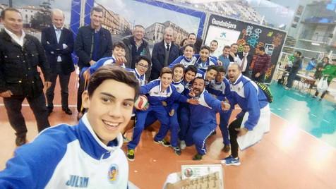 Excepcional actuación del Voley Playas de Benidorm en el Campeonato de España