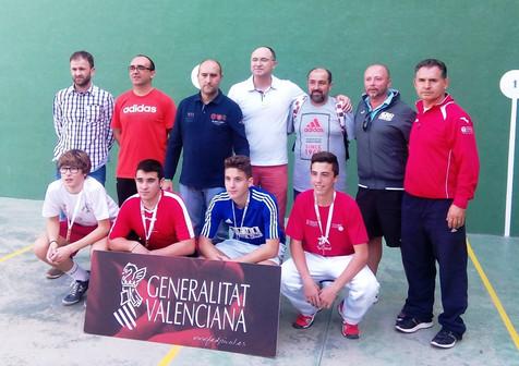Paco de Benidorm, subcampeón autonómico cadete de los XXXIV Jocs Esportius de la Comunitat Valencian
