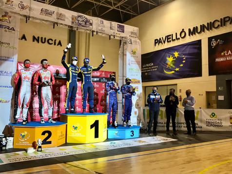 """""""Cohete"""" Suárez gana el Rallye La Nucía"""