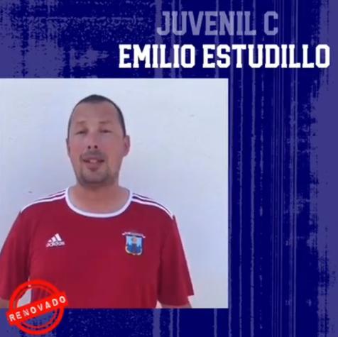 Emilio Estudillo al Juvenil C del Ciudad de Benidorm