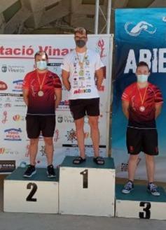 Otra victoria del nadador Miguel Bou Bernabeu