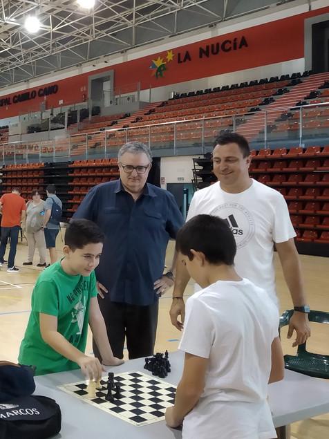 45 ajedrecistas participaron en la 6ª Jornada de Tecnificación en La Nucía