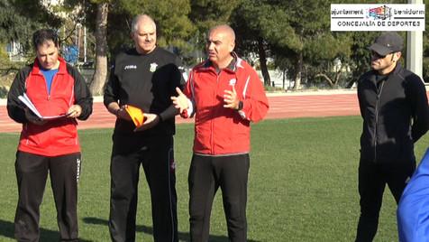Vídeo montaje del segundo entrenamiento de la Selección Local Infantil