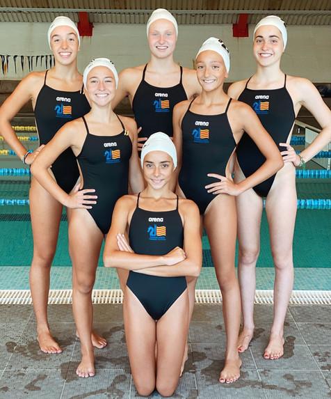 33 nadadoras para formar parte del Grupo Especial de seguimiento de FCNV GESEVA para esta temporada