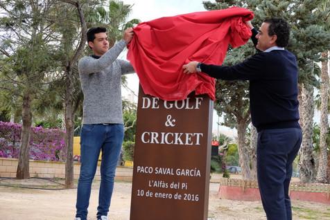 Campo de Golf y Cricket Francisco Saval García