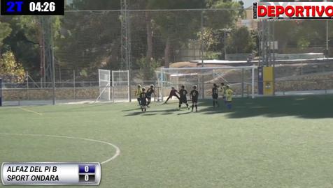 Partido completo entre el Benjamín B del CF Alfaz del Pi y Sport Ondara que hemos dado en directo