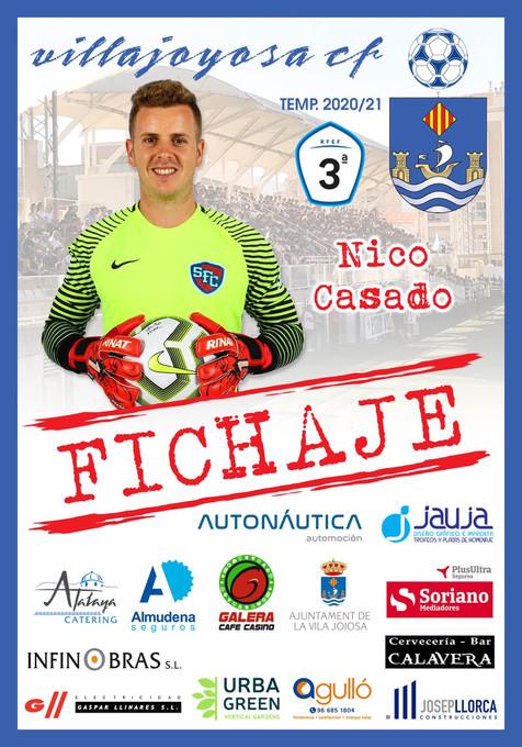 Nico Casado ficha por La Vila