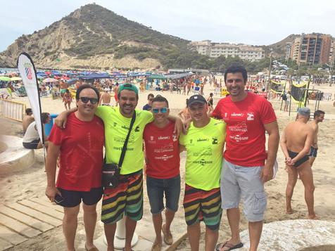 Casi 2.000 personas vibraron con el espectacular ambiente del 38º Torneo de Voley Playa de la Cala d