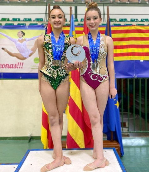 Notables resultados de las gimnastas del Club Gimnasia Ritmica Benidorm en la fase provincial