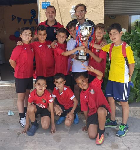 """El Benjamín """"D"""" del CF La Nucía gana la liga"""
