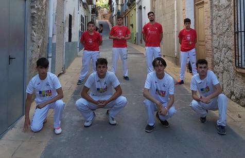 El Club Pilota Benidorm, en la final de la XXXIX edición de los Jocs Esportius de la C. Valenciana