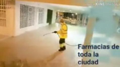 Vídeo homenaje a los trabajadores de la limpieza y desinfección de Benidorm