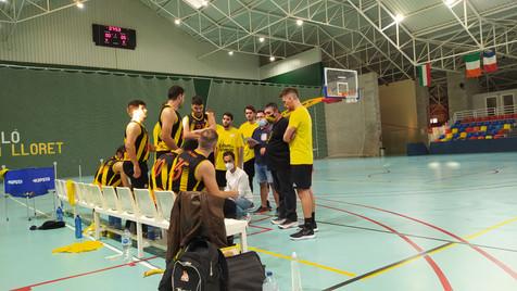 Jornada de competición del C.B. La Vila