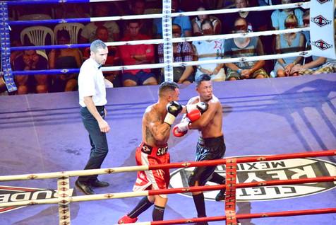 Se celebró una velada de boxeo en el Palau