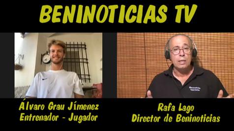 Vídeo entrevista con Álvaro Grau, jugador del CF Benidorm y entrenador del At. Benidorm