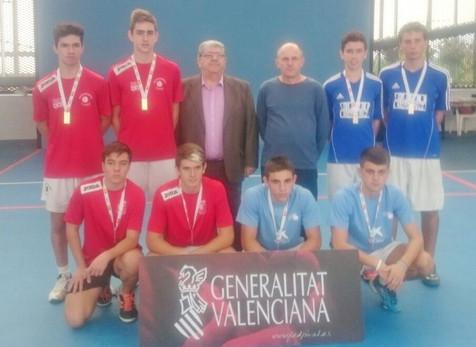 Benidorm, subcampeón autonómico juvenil de los XXXIV Jocs Esportius de la Comunitat Valenciana