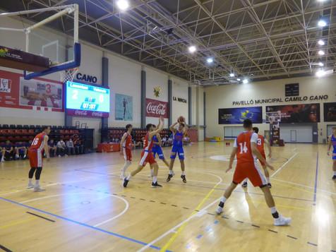 """La Nucía UA  pierde con el líder Valencia Basket """"B"""""""