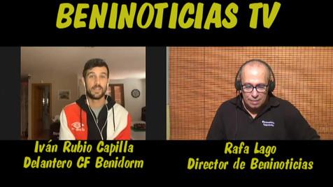 Vídeo entrevista al futbolista y Tiktokero del CF Benidorm, Iván Rubio