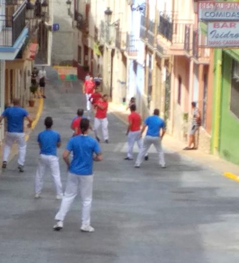 Nueva jornada de pilota valenciana en la Comarca